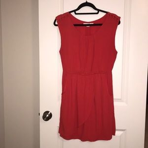 Forever 21 dress size large red